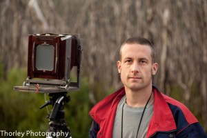 portrait of Nick Thorley Photographer