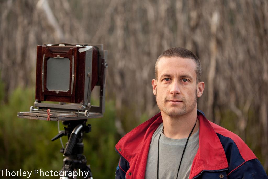 portrait of Nick Thorley Photographer