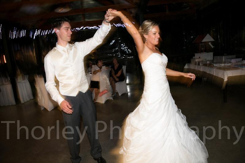 Dancing twirl.